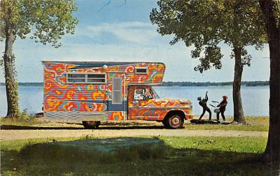 top025829 - Trucks / Buses /  Vans Post Card