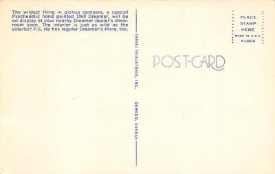 top025829 - Trucks / Buses /  Vans Post Card  back