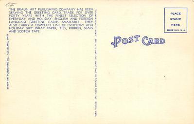top025841 - Trucks / Buses /  Vans Post Card  back