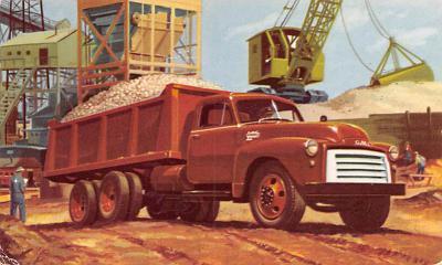 top025845 - Trucks / Buses /  Vans Post Card