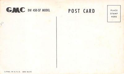 top025845 - Trucks / Buses /  Vans Post Card  back