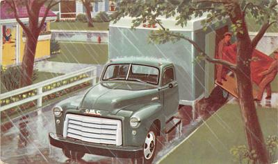 top025847 - Trucks / Buses /  Vans Post Card