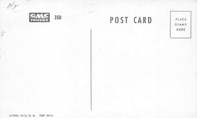 top025851 - Trucks / Buses /  Vans Post Card  back