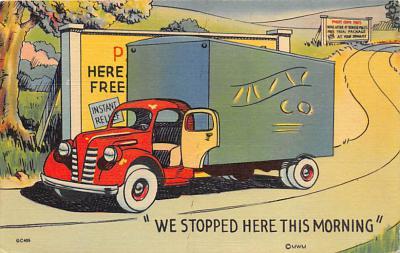 top025857 - Trucks / Buses /  Vans Post Card