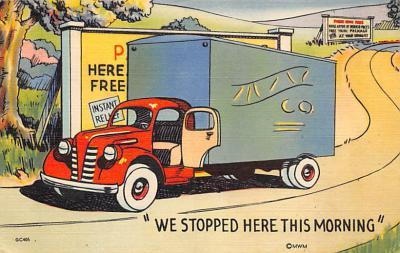 top025859 - Trucks / Buses /  Vans Post Card