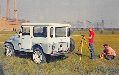 top025871 - Trucks / Buses /  Vans Post Card