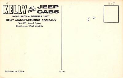 top025871 - Trucks / Buses /  Vans Post Card  back