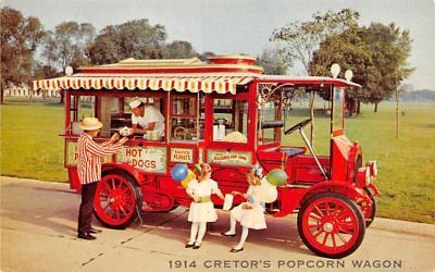 top025873 - Trucks / Buses /  Vans Post Card