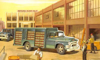 top025881 - Trucks / Buses /  Vans Post Card