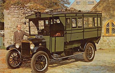 top025887 - Trucks / Buses /  Vans Post Card