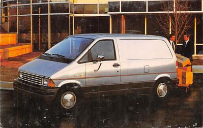 top025891 - Trucks / Buses /  Vans Post Card