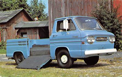 top025895 - Trucks / Buses /  Vans Post Card