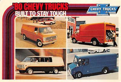 top025897 - Trucks / Buses /  Vans Post Card