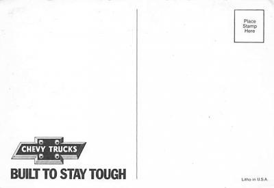 top025897 - Trucks / Buses /  Vans Post Card  back