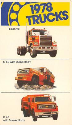 top025899 - Trucks / Buses /  Vans Post Card
