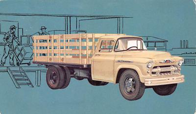 top025907 - Trucks / Buses /  Vans Post Card