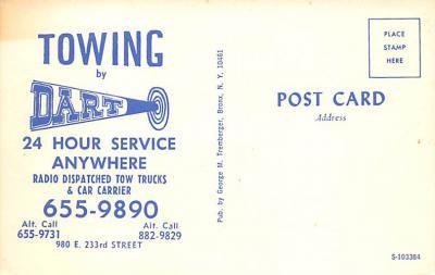 top025919 - Trucks / Buses /  Vans Post Card  back