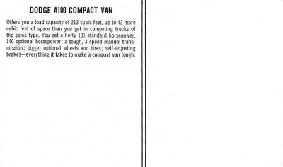top025925 - Trucks / Buses /  Vans Post Card  back
