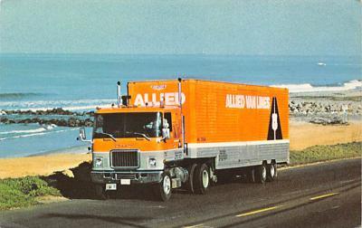 top025927 - Trucks / Buses /  Vans Post Card