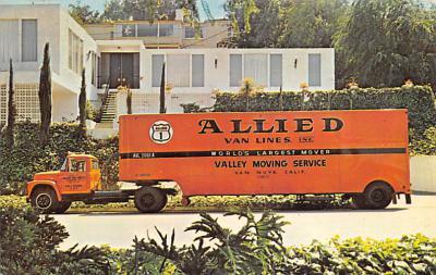 top025929 - Trucks / Buses /  Vans Post Card