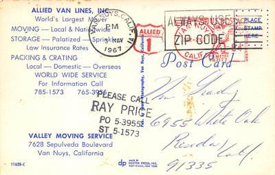 top025929 - Trucks / Buses /  Vans Post Card  back