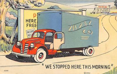 top025941 - Trucks / Buses /  Vans Post Card