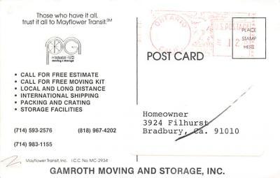 top025945 - Trucks / Buses /  Vans Post Card  back