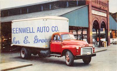 top025951 - Trucks / Buses /  Vans Post Card