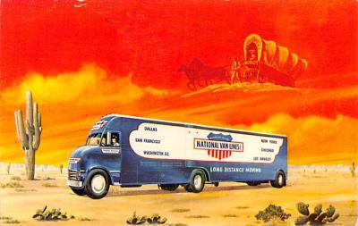 top025983 - Trucks / Buses /  Vans Post Card