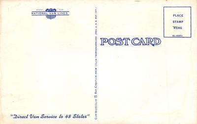top025983 - Trucks / Buses /  Vans Post Card  back