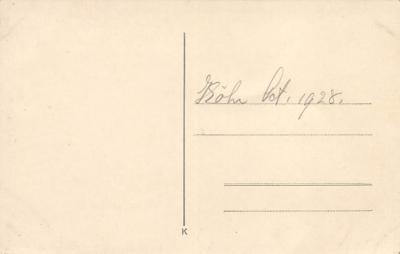 top026525 - Vinatge Auto Pre 1950 Post Card  back
