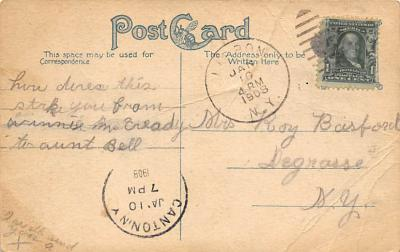 top026679 - Police Post Card  back