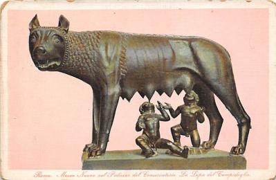 top026893 - Statues / Monuments Postcard