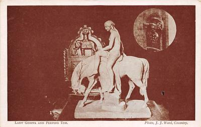top027147 - Statues / Monuments Postcard