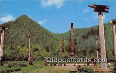tot001051 - Saxman Park Ketchikan, Alaska Postcard Post Card