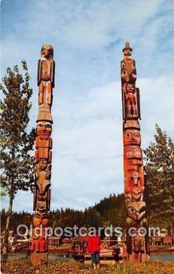 tot001058 - Chief Shakes Island Wrangell, Alaska Postcard Post Card