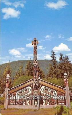tot001062 - Totem Bight Park Ketchikan, Alaska Postcard Post Card