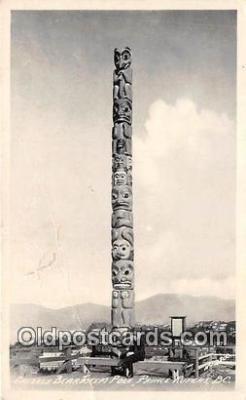 Grizzly Bear Totem Pole