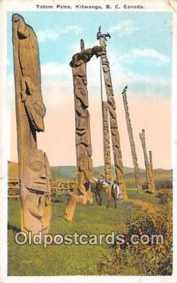 tot001066 - Kitwanga, BC, Canada Postcard Post Card