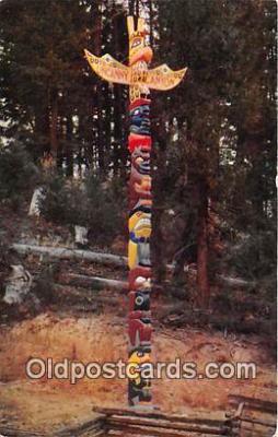 tot001094 - Uncanny Canyon Southern Oregon, USA Postcard Post Card