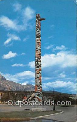 tot001099 - Indian Totem Poles British Columbia Postcard Post Card