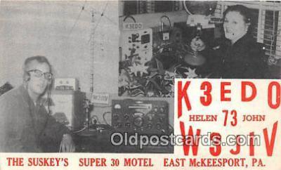 tow001101 - Radio Station Postcard