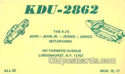 tow001107 - Radio Station Postcard