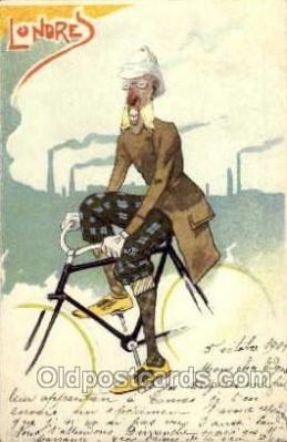 tra000001 - Londres Cycling Postcard Postcards