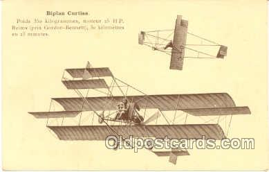 tra001025 - Early Air,  Airplane Postcard Postcards