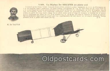 tra001031 - Early Air,  Airplane Postcard Postcards
