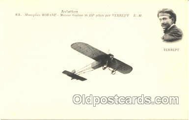 tra001051 - Early Air,  Airplane Postcard Postcards