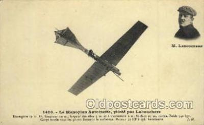 tra001070 - Le Monoplan Antoinette Laboucherk