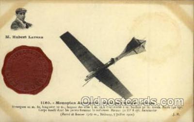 tra001084 - Monoplan Antoinette Pilot Hubert Lathan