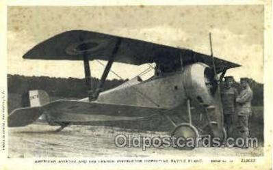 tra001130 - American Aviator Aviation, Airplane Postcard Postcards